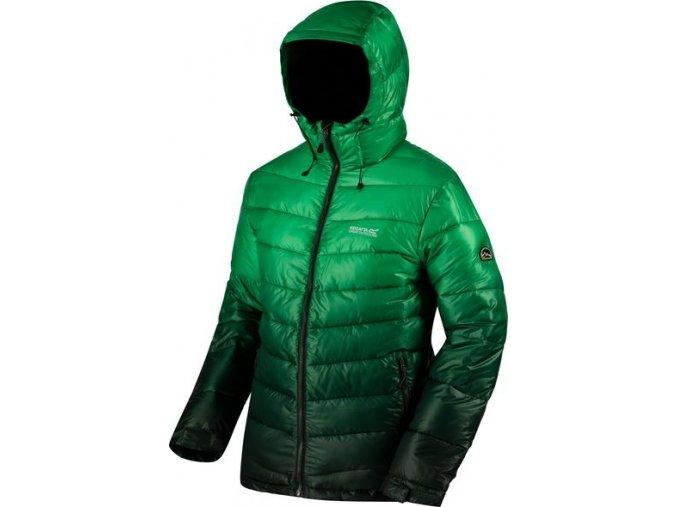 Męska ciepła kurtka Regatta RMN105 AZUMA Zielony kolor