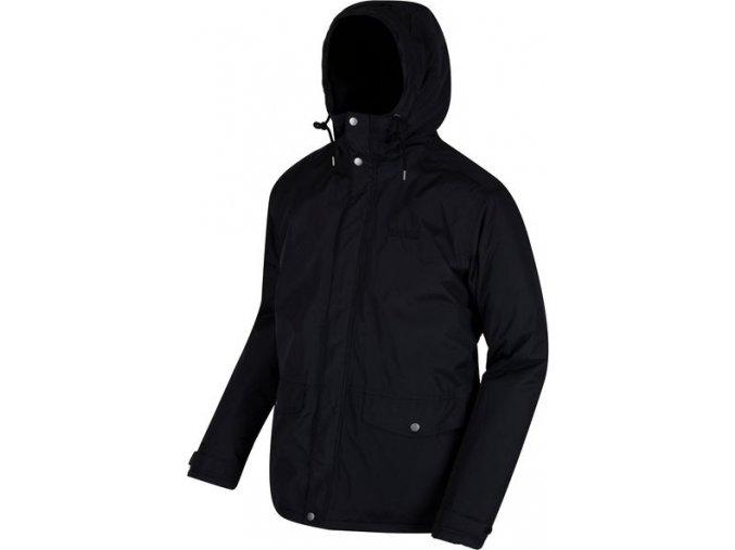 Męska kurtka zimowa Regatta RMP214 STERNWAY II czarna