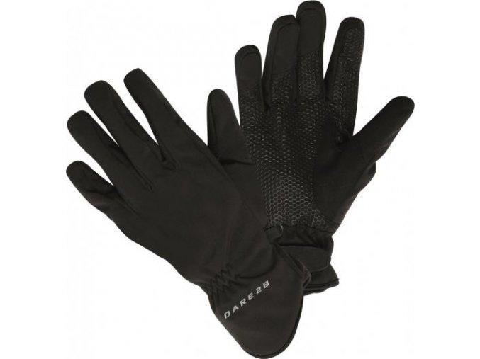 Rękawice Softshell Dare2B DUG011 S/Shell 2 Czarny kolor