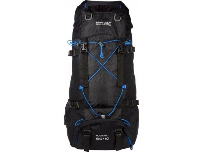 Czarny plecak turystyczny Regatta EU149 Blackfell 2 60+10l