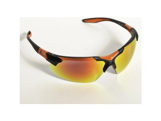 Okulary sportowe Dare2B POL595 T3334 Sport Czarny Czerwony