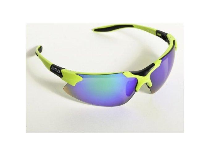 Okulary sportowe Dare2B POL595 T3334 Sport Apple Green