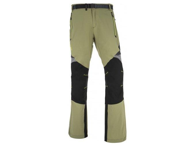 Męskie spodnie technyczne KILPI HIGHLANDER-M Zielone