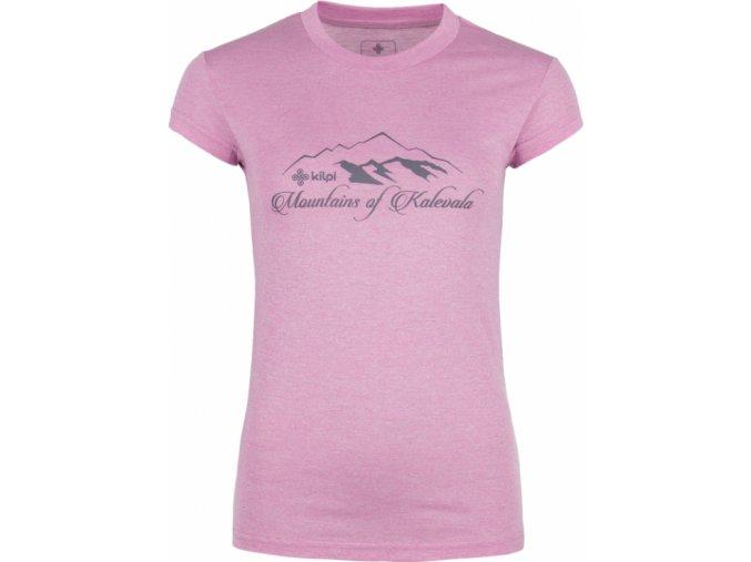 Damska koszulka T-shirt KILPI GAROVE-W Fioletowa
