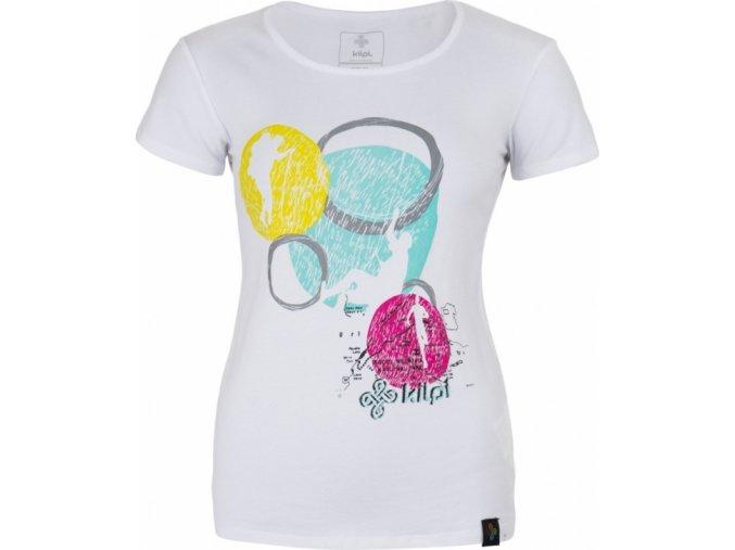 Koszulka damska KILPI KNOLL-W biała