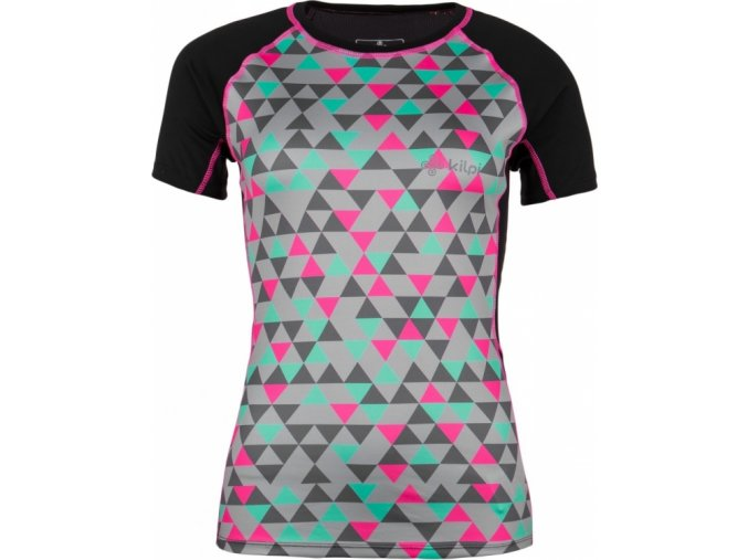 Damska koszulka funkcjonalna KILPI RAINBOW-W czarna