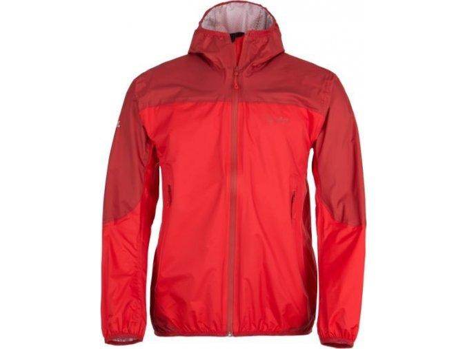 Męska ultralekka kurtka techniczna KILPI HURRICANE-M czerwona