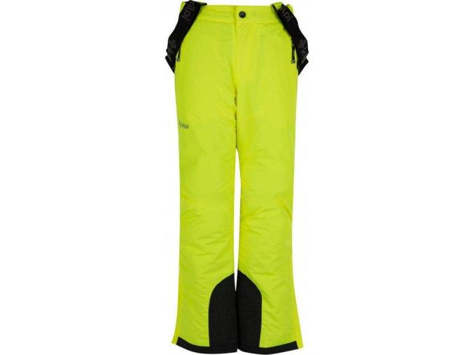 Spodnie narciarskie chłopięce KILPI MIMAS-JB Żółte