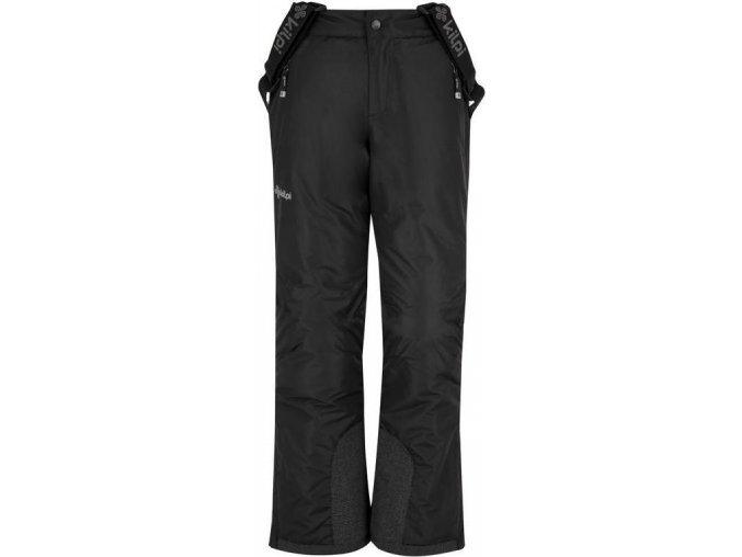 Spodnie narciarskie chłopięce KILPI MIMAS-JB  Czarne