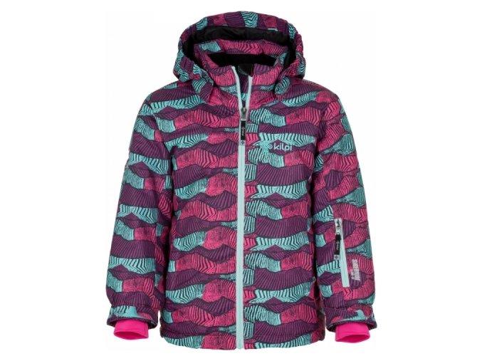 Dziewczęca kurtka narciarska KILPI GENOVESA-JG zielona