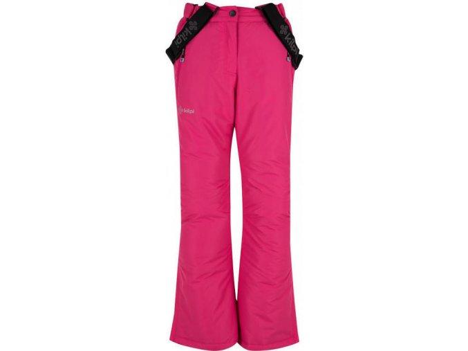 Spodnie narciarskie dziewczęce KILPI ELARE-JG Różowe