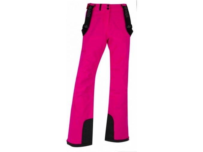 Damskie narciarske spodnine KILPI EUROPA-W Różowe