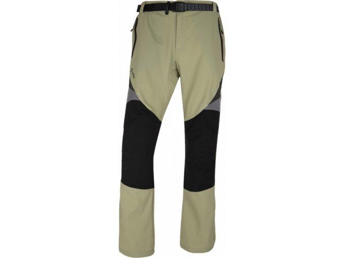 Męskie spodnie techniczne KILPI HIGHLANDER-M Khaki 17