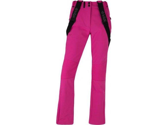 Damskie softshell spodnie KILPI DIONE-W Rózowe