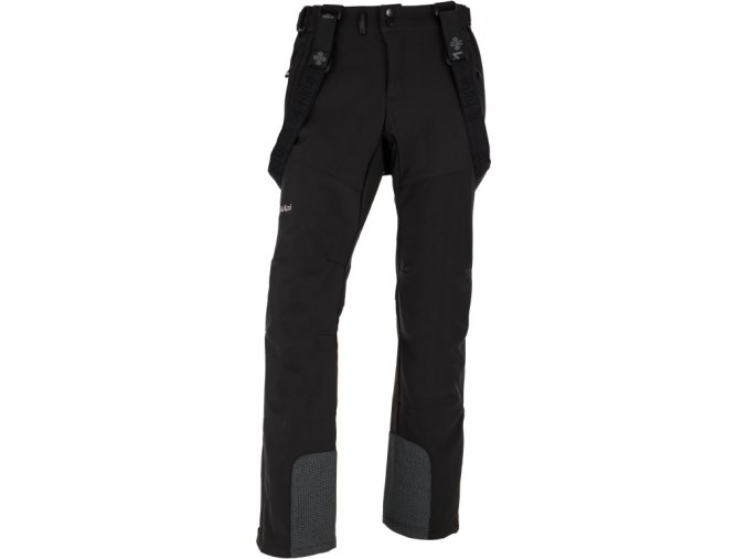 Męskie softshell spodnie KILPI RHEA-M  Czarne