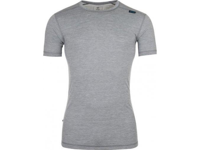 Męska koszula funkcjonalna KILPI MERIN-M ciemnoszara