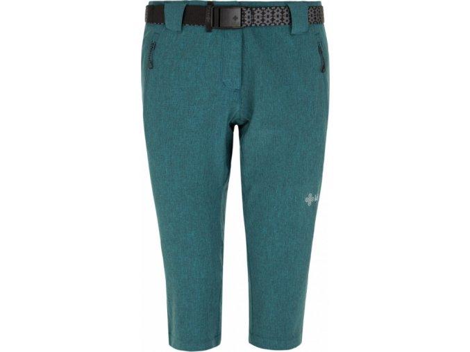 Damskie spodnie 3/4 KILPI DALARNA-W Turkusowe