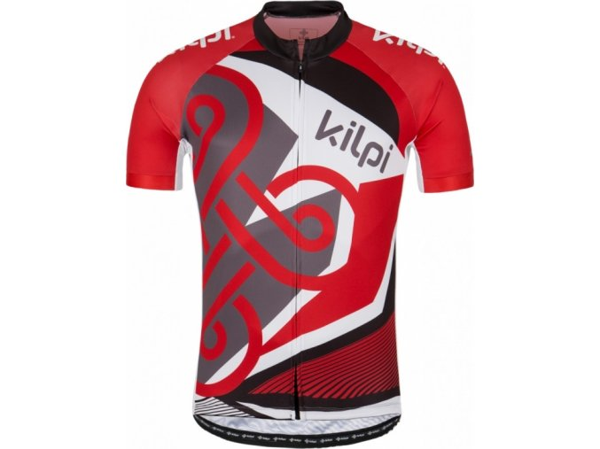Męska koszulka kolarska KILPI RIFTO-M czerwona