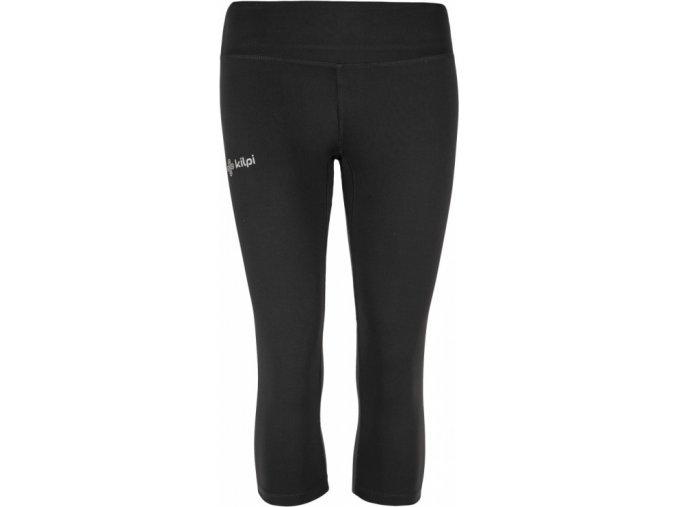 Damskie spodnie 3/4 elastyczne KILPI SAMANA-W Czarne