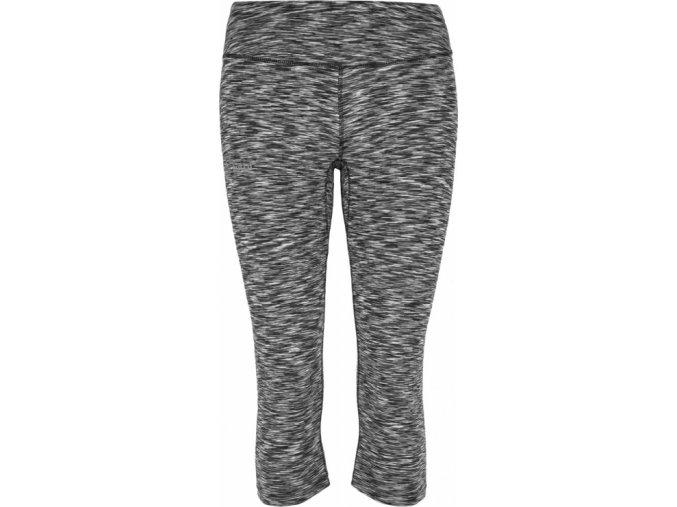 Damskie spodnie 3/4 elastyczne KILPI SAMANA-W Melanż / pręgowane