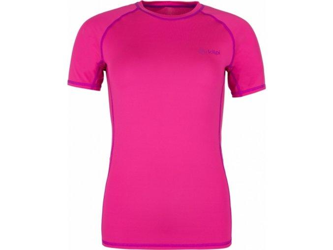 Damska koszulka funkcjonalna KILPI BORDER-W Różowa