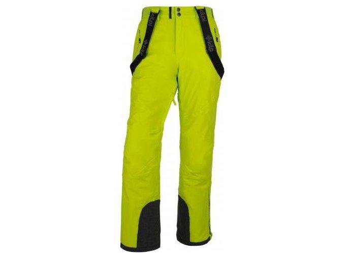 Męskie spodnie narciarske KILPI METHONE-M Jasnozielone 18