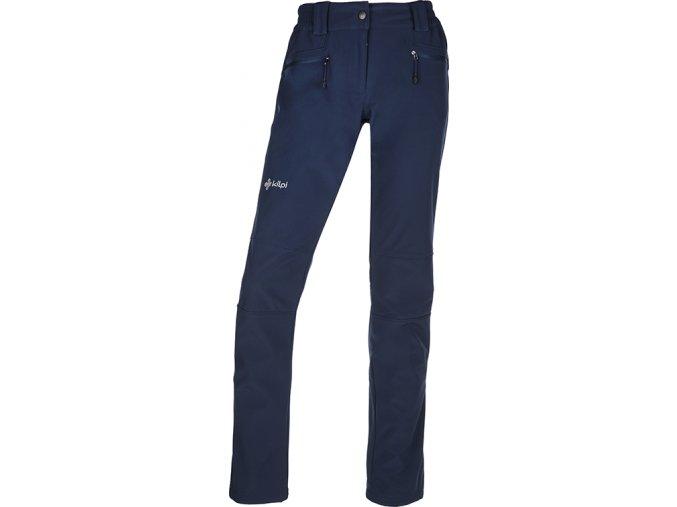 Damskie spodnie typu softshell KILPI MANILOU-W niebieskie 19