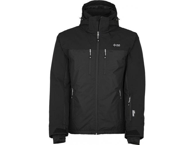 Męska kurtka narciarska KILPI MARYL-M czarna (DUŻY ROZMIAR)