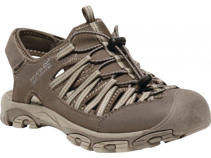 Brązowe sandały damskie RWF476 REGATTA  Eastshore