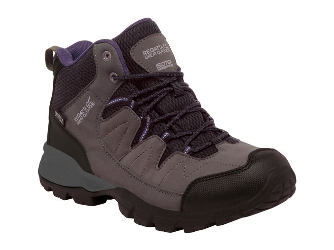 Damskie buty trekkingowe RWF459 REGATTA Lady Holcombe Mid Szara