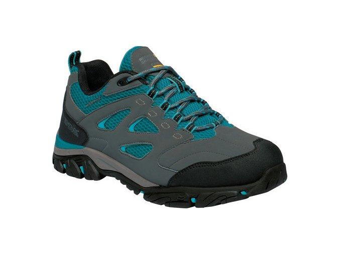 Damskie buty trekkingowe REGATTA RWF572 Holcombe IEP Low Szary / niebieskiDámská treková obuv REGATTA RWF572 Holcombe IEP Low Šedá Modrá