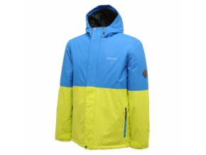 Męska kurtka narciarska Dare2B DMP149 VENTURE niebiesko-żółta