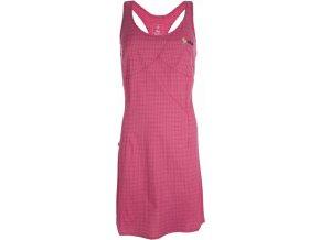 Damska outdoorowa sukienka KILPI ROSSELA różowa