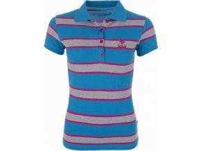 Damska koszulka polo KILPI AGAPE niebieska
