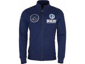 Bluza męska bawełniana KILPI KEES-M Niebieska