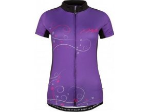 Damska koszulka rowerowa KILPI VELOCITY-W fioletowa