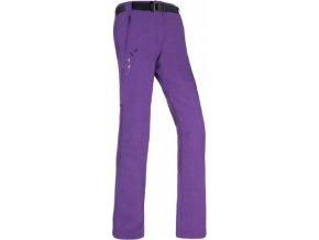 Damskie spodnie techniczne KILPI WANAKA-W purpurowe