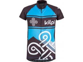 Dziecięca koszulka rowerowa KILPI SEPTIMA-K niebieska