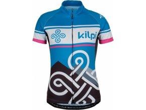 Damska koszulka rowerowa KILPI SEPTIMA-W niebieska