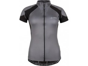 Damska koszulka rowerowa KILPI FLASH-W czarna