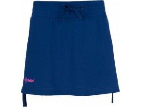 Elastyczna spódnica damska KILPI TITICACA-W Ciemno niebieska