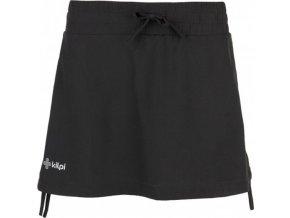 Elastyczna spódnica damska KILPI TITICACA-W Czarna