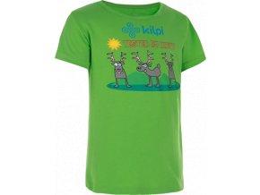 Dzieczęca koszulka KILPI AMAKA-J Jasnozielona