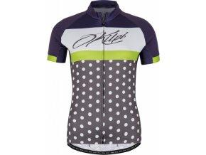 Damska koszulka rowerowa KILPI DOTTY-W czarna