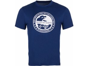 Męska koszulka KILPI GLOBE-M niebieska