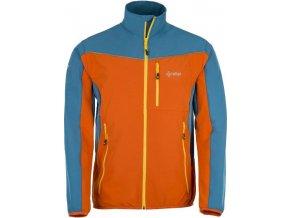 Męska, trzysezonowa wiatroodporna kurtka BANDIT-M KILPI pomarańczowa