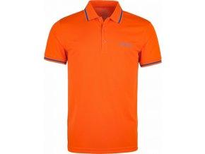 Męska koszulka polo KILPI JUBA-M pomarańczowa