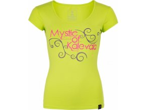 Damska koszulka KILPI BARILA-W jasnozielona