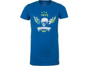 Chłopięca koszulka KILPI SKULL-JB niebieska