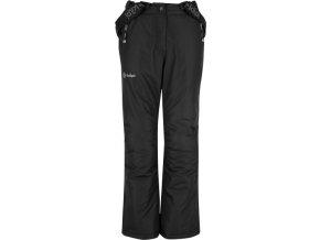 Dziecięce zimowe spodnie narciarskie KILPI ELARE-JG Czarne